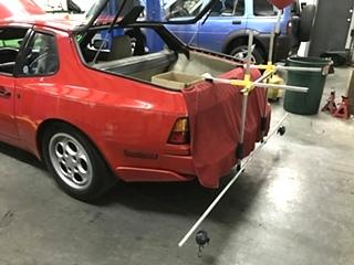 Porsche Suspension Setup