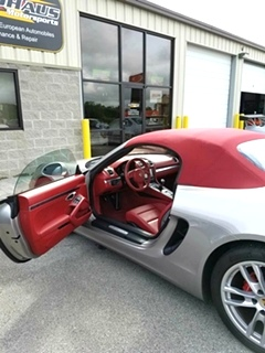 Porsche Boxster Service and Repair