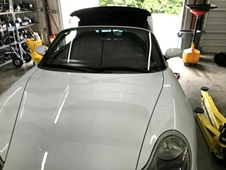 Porsche Boxster Convertable Top Repair