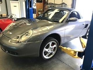 Porsche Boxster Wheel Bearing Replacement