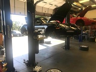 Porsche Oil Service and Brake Fluid Flush