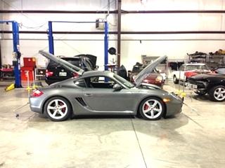 Porsche Suspension Upgrade