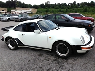 Porsche 930 Turbo Repair