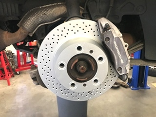 Porsche Brake Service